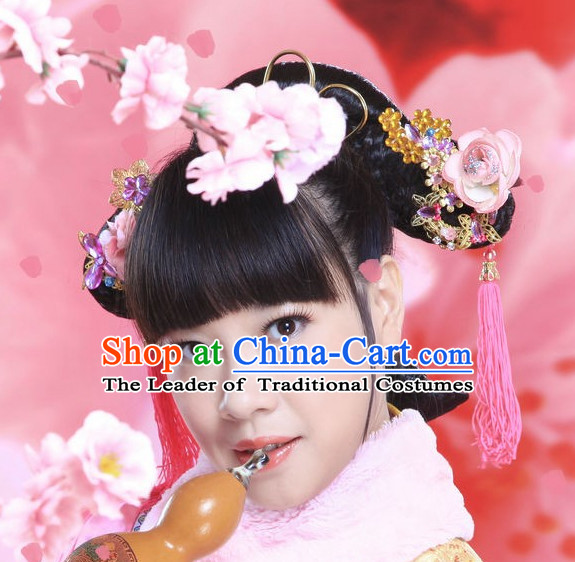 Chinese Ancient Hair Accessories Hair Pieces for Girls