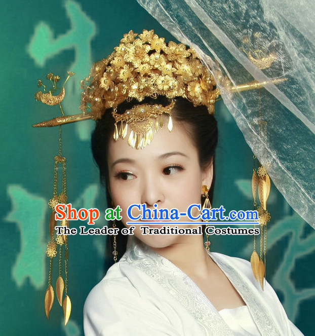 Chinese Ancient Empress Hairpieces Hair Accessories Hair Pieces