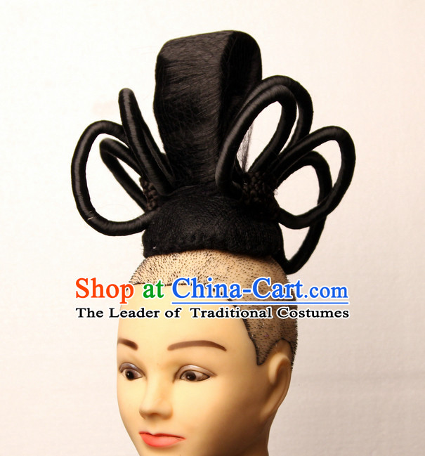 Chinese Ancient Fairy Black Wigs