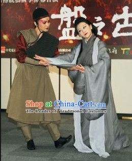 Ancient Chinese Shang Dynasty People Clothing Clothes Costume