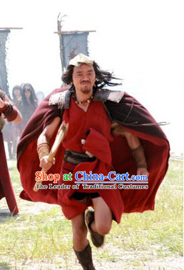 Xia Dynasty Clothing Chinese New Stone Age Costume for Men.
