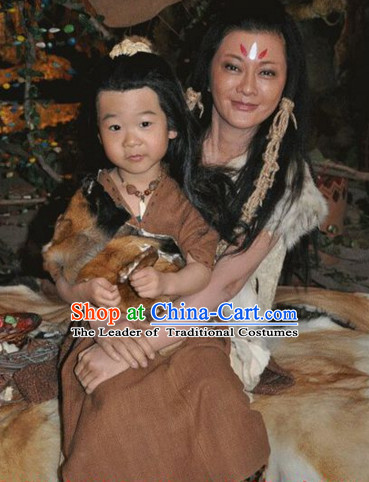 Xia Dynasty New Stone Age Costume for Children
