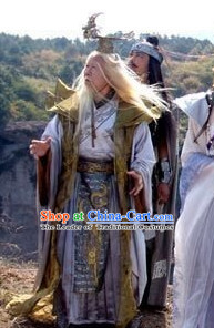 Stage Opera Costume TV Drama Legend Dong Hai Dragon King Costumes