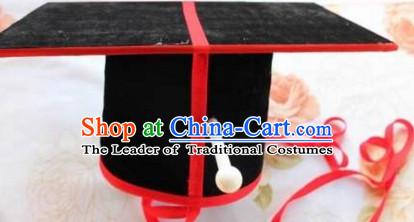 Ancient Chinese Western Zhou Dynasty Ceremonial Hat for Men