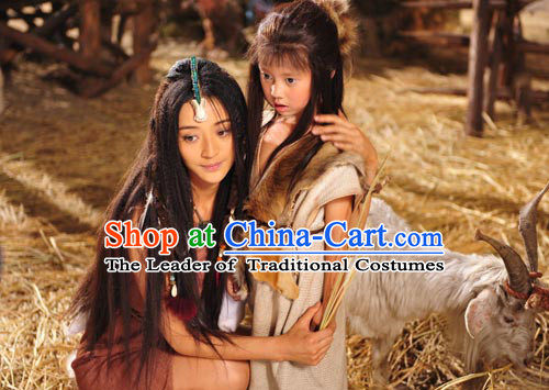 Xia Dynasty Little Girl Clothing