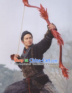 Ancient China Xia Dynasty Houyi Mythological Chinese Archer Costume Complete Set