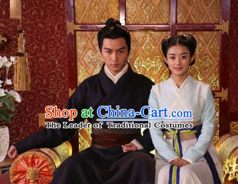 Period of the Northern and Southern Dynasties Chinese Costume Chinese Classic Costumes National Garment Outfit Clothing Clothes Detective Costume for Men