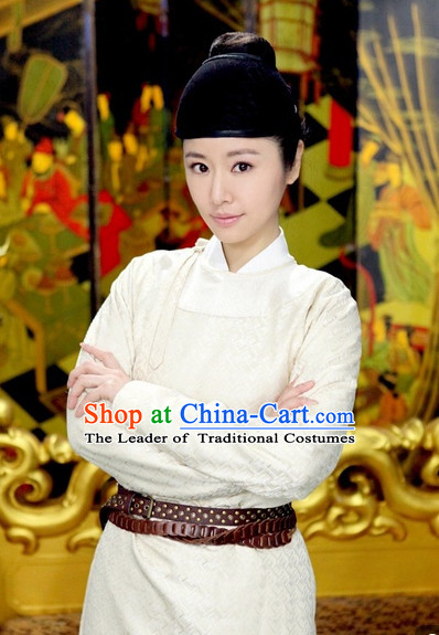 Chinese Costume Five Dynasties Chinese Classic Costumes National Garment Outfit Clothing Clothes