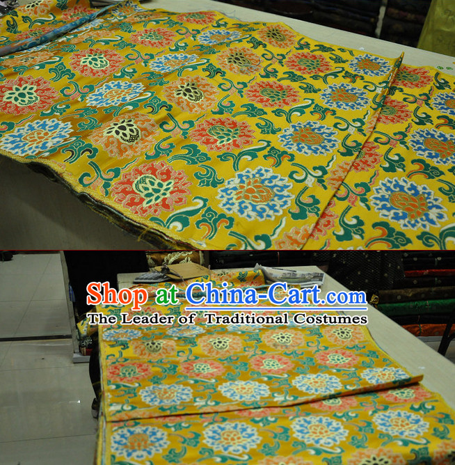 Traditional Chinese Silk Brocade Fabric