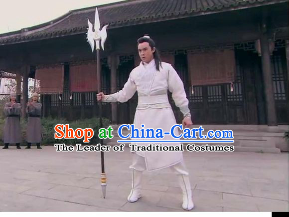 Chinese Costume Sui Dynasty Period Knight Costumes for Men