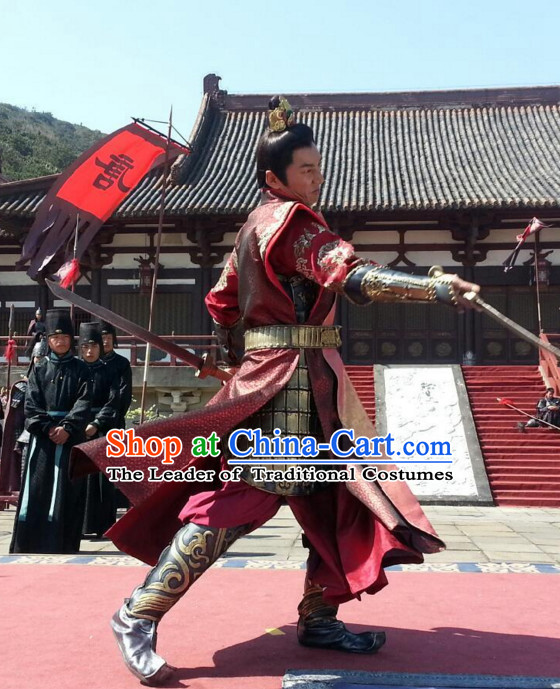 Tang Dynasty Chinese Prince Costumes Costume Complete Set for Men