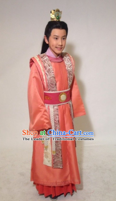 b8381c9fc Tang Dynasty Chinese Imperial Prince Complete Set for Kids Boys