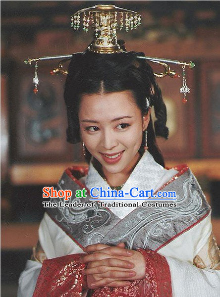Chinese Qin Dynasty Princess Hair Accessories Hair Clips Hairpin for Women