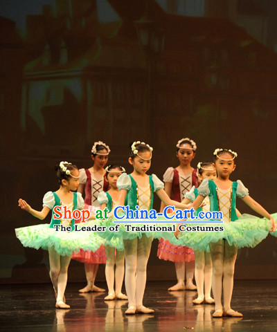 Top Ballet Costume Tutu Ballerina Dance Costumes Dancewear Dance Supply Tutus Free Custom Tailored Tu Tu for Kids