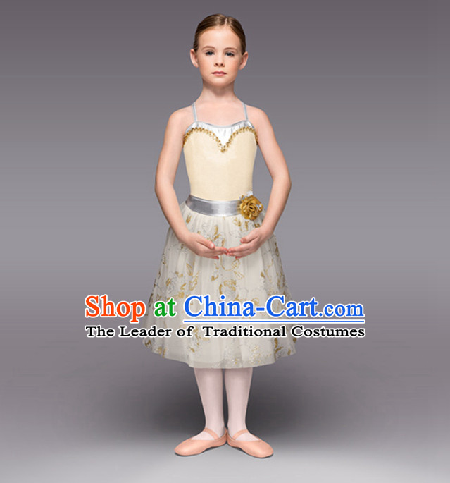 Kids Ballet Costumes Dancing Costumes Dancewear Dance Supply Free Custom Tailored Service