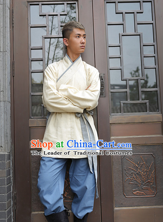 Tang Dynasty Ancient Chinese People Clothes Complete Set