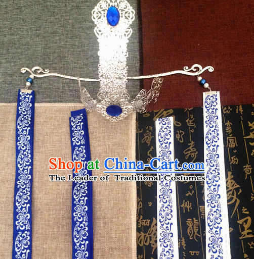Chinese Ancient Style  Imperial Prince Hair Jewelry Accessories Hairpins Headwear Headdress Hair Fascinators for Men