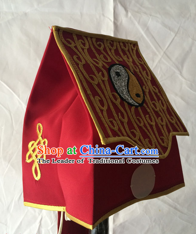 Chinese Traditional Opera Taoist Hat for Men