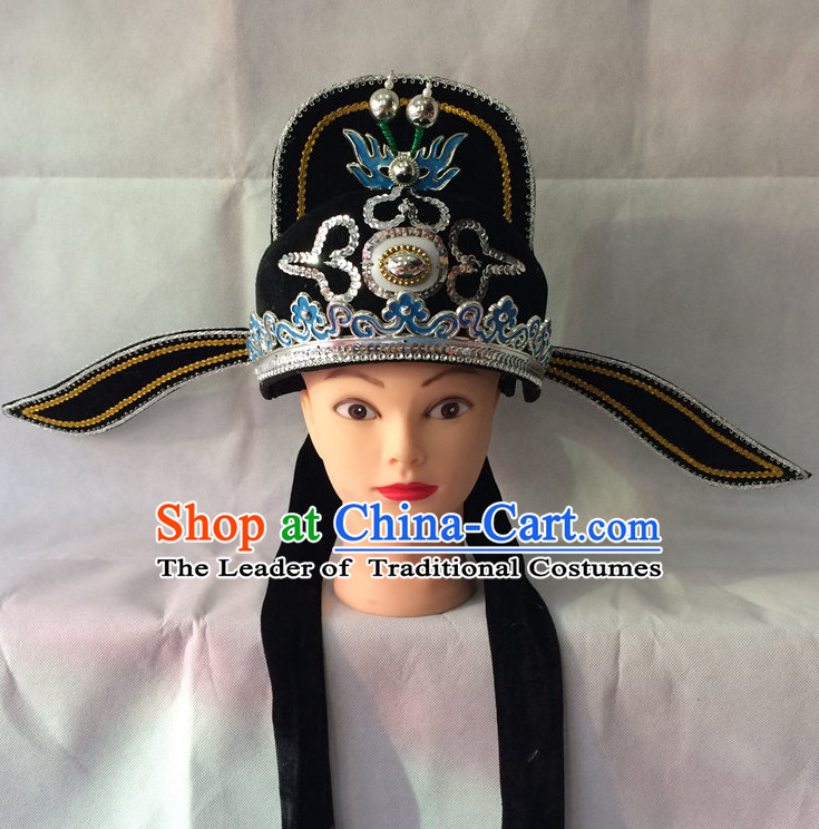 Chinese Opera Scholar Hats for Men