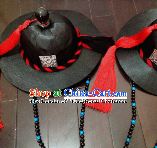 Korean Handmade Scholar Official Hat for Men