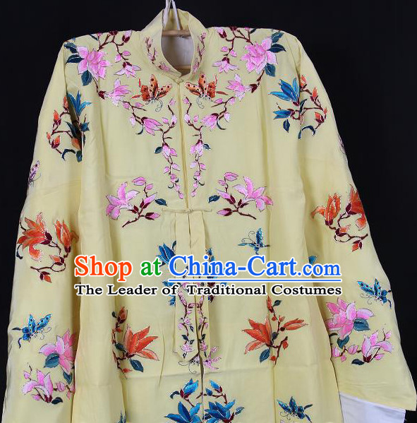 Chinese Opera Classic Embroidered Robe Costumes Chinese Costume Dress Wear Outfits Suits for Women