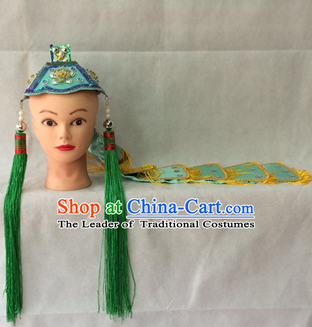 Chinese Opera Nun Hat for Women