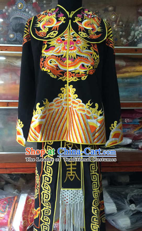 Chinese Opera Bodyguard Clothes Dress China Costumes for Men