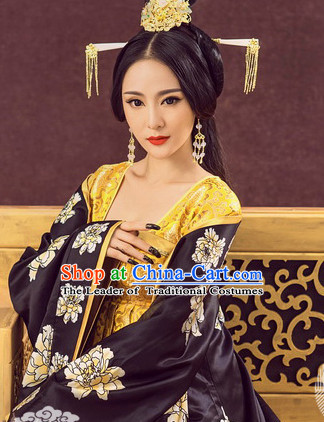 Chinese Tang Dynasty Empress Costume Ancient China Costumes Han Fu Dress Wear Outfits Suits Clothing for Women