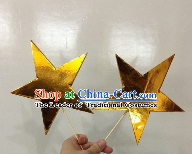 Chinese Dance Apparel Star Props Folk Dancing Prop Decoration
