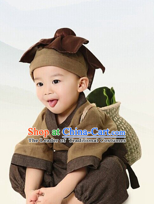 Chinese Costume Ancient China Qipao Costumes Han Fu Dress Wear Outfits Suits Clothing for Kids