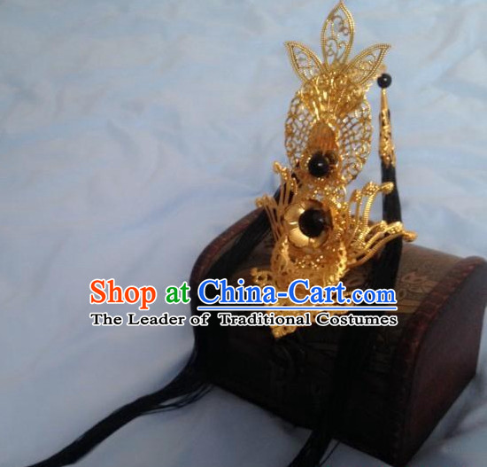 Chinese Classic Cosplay Prince Crown Headwear Headipieces Hair Accessories