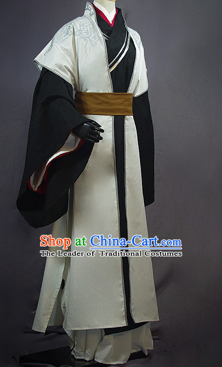 China Classical Professor Cosplay Shop online Shopping Korean Japanese Asia Fashion Chinese Apparel Ancient Costume Robe for Men Free Shipping Worldwide