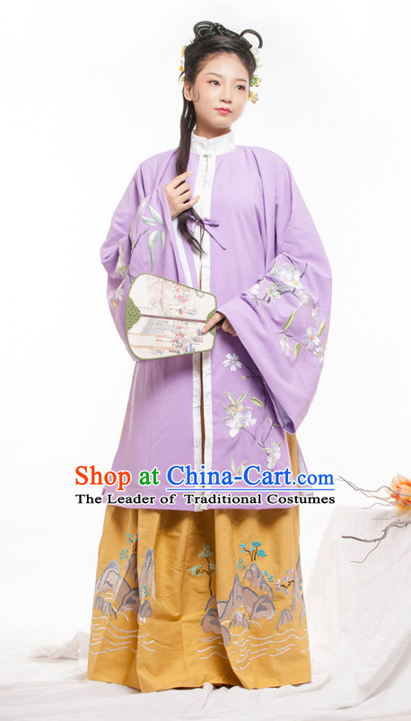 Chinese Ancient Ming Dynasty Princess Spring Summer Costume China online Shopping Traditional Costumes Dress Wholesale Asian Culture Fashion Clothing and Hair Accessories for Women