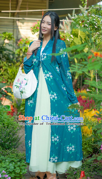 Asian Fashion Chinese Ancient Song Dynasty Embroidered Cranes Clothes Costume China online Shopping Traditional Costumes Dress Wholesale Culture Clothing and Hair Accessories for Women