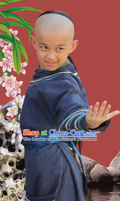Ancient Chinese Kung Fu Long Robes for Kids