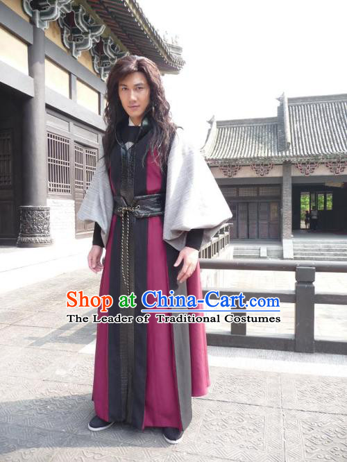 Ancient Chinese Style Knight Kimono Chinese Costume Chinese Ancient Costumes Carnival Costumes Fancy Dress Complete Set