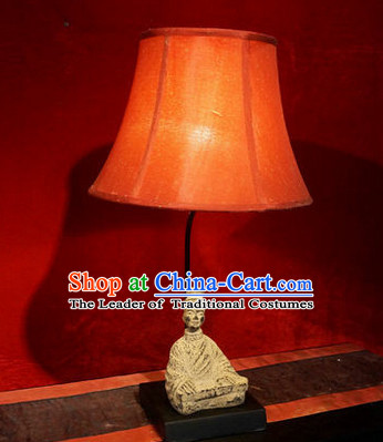Ancient Chinese Man Style Desk Lantern