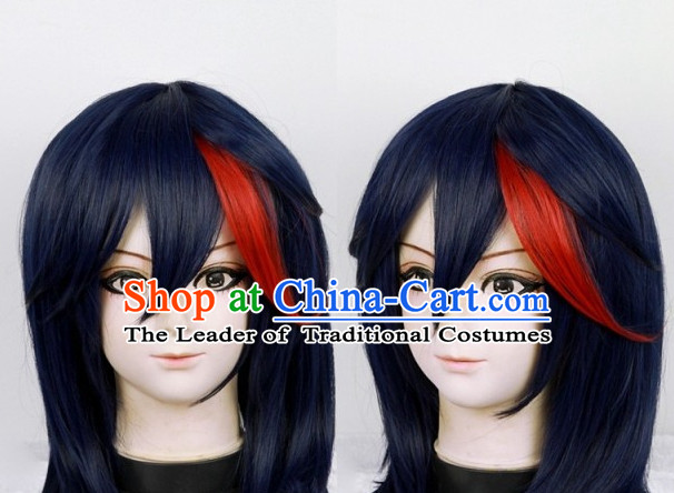 Chinese Ancient Knight Cosplay Long Wigs Classic Wig for Men