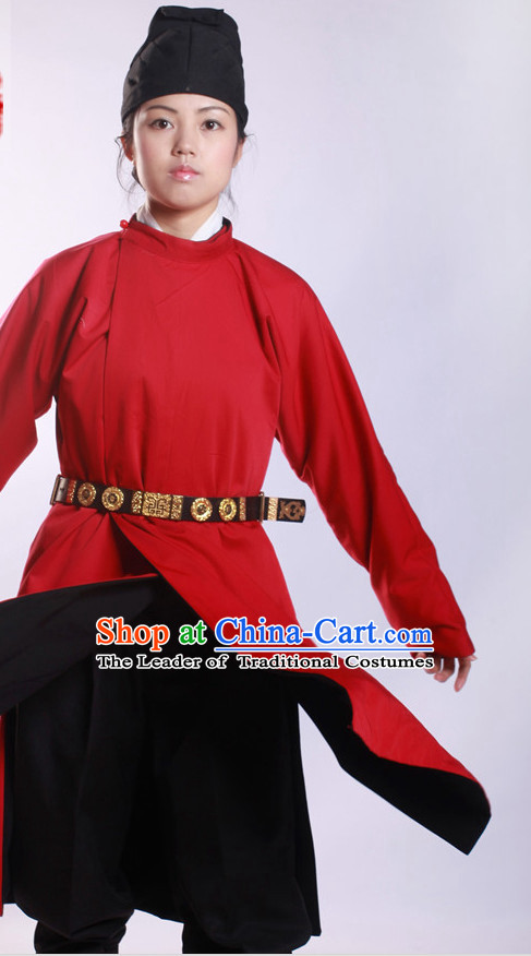 Chinese Costume Ancient Asian Korean Japanese Clothing Tang Dynasty Clothes Garment Outfits Suits for Women or Men