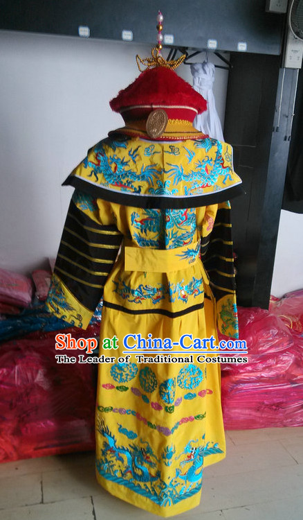 Chinese Opera Costumes Beijing Opera Costume Peking Stage Dress Official Emperor