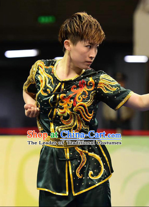 Traditional Kungfu Master Martial Arts Wushu Uniform Outfit for Men Women Boys Girls Kids
