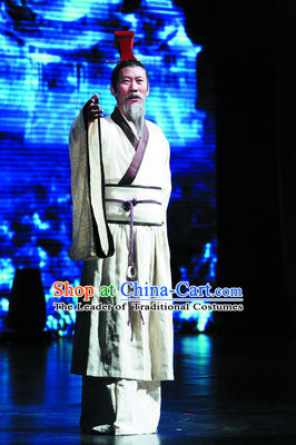 Ancient Chinese Qu Yuan Costumes Complete Set