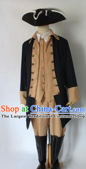 England Musician Folk Costume Traditional Garment Classic Clothing Complete Set for Men