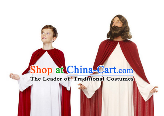 Ancient Jesus Kids Adults Halloween Costume for Men and Boys
