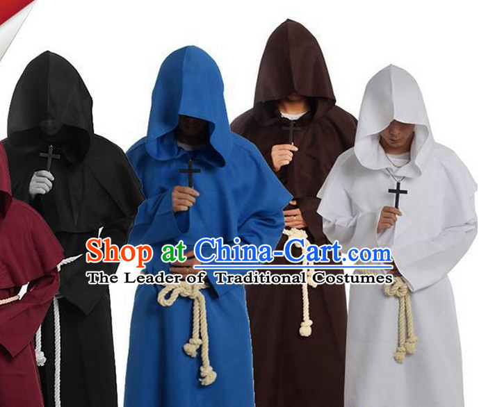 Ancient Medieval Costumes Kids Adults Halloween Costume for Men and Boys