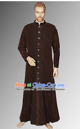 Ancient GMedieval Costumes Dresses Complete Set for Men Boys Adults Kids