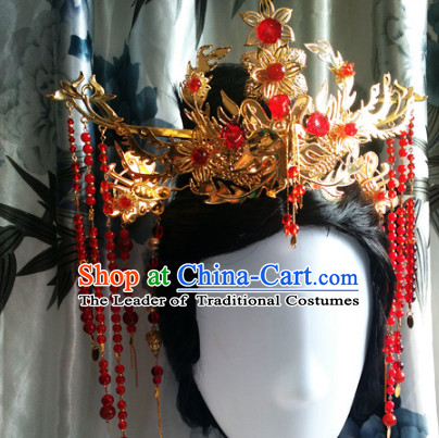 Ancient Chinese Queen Princss Wedding Wigs Toupee Wigs Human Hair Wig Hair Extensions Sisters Weave Cosplay Wigs Lace Hair Accessories for Women
