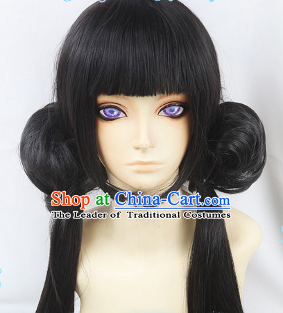 Ancient Asian Korean Japanese Chinese Style Male Wigs Toupee Wig
