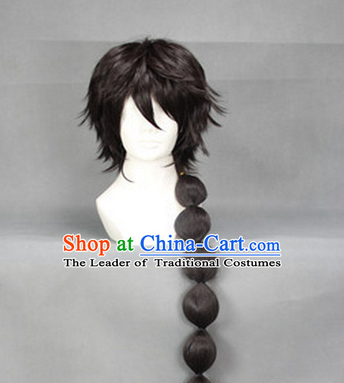 Ancient Chinese Style Full Wigs Hair Extensions Wigs Wig Brazilian Hair Toupee Lace Front Wigs Human Hair Wigs Remy Hair Sisters for Kids Women Cheap Hair Pieces Weave Hair
