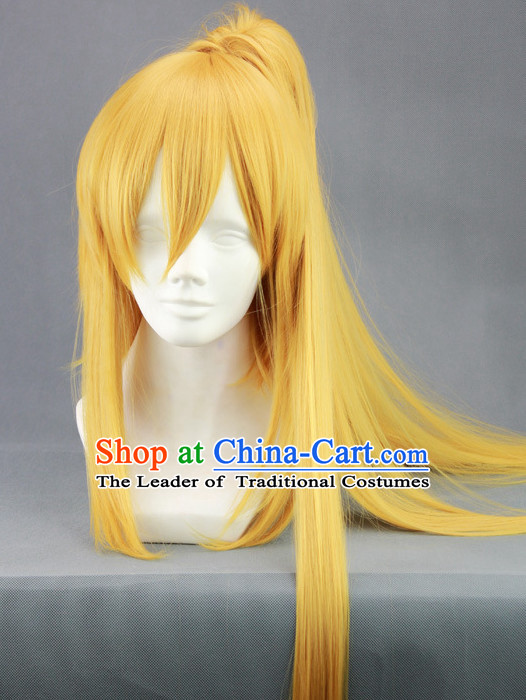 Ancient Chinese Style Full Wigs Hair Extensions Wigs Wig Brazilian Hair Toupee Lace Front Wigs Human Hair Wigs Remy Hair Sisters for Kids Men Women Cheap Hair Pieces Weave Hair